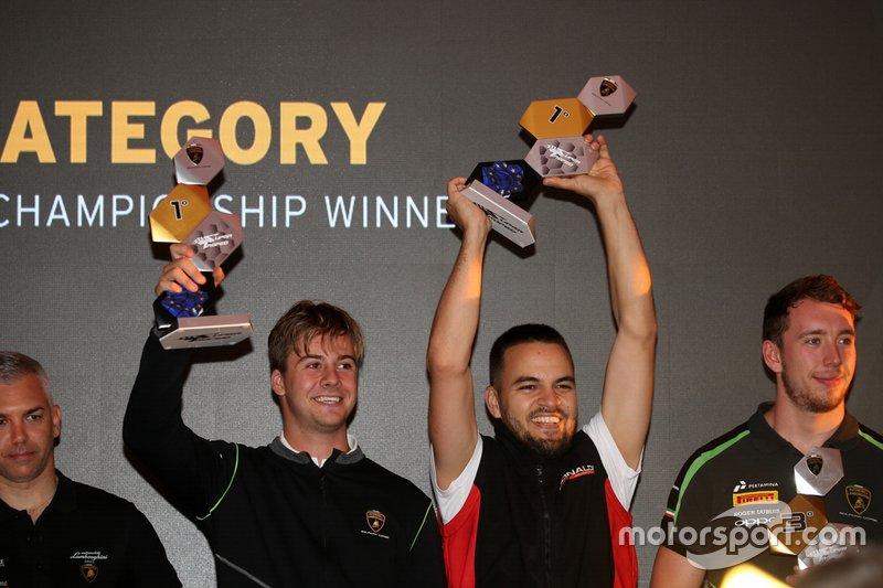 Awards ceremony Lamborghini Super Trofeo 2019