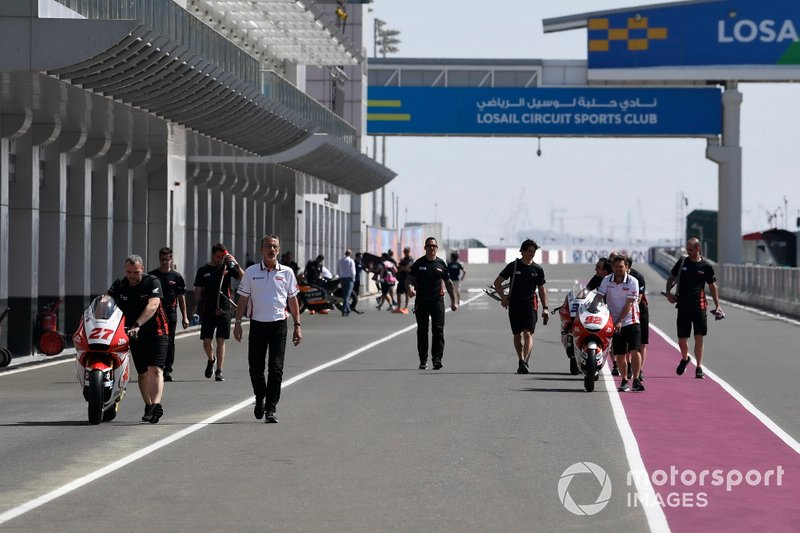 """The entrance to the pits changed """"radically"""" for the Qatar GP"""