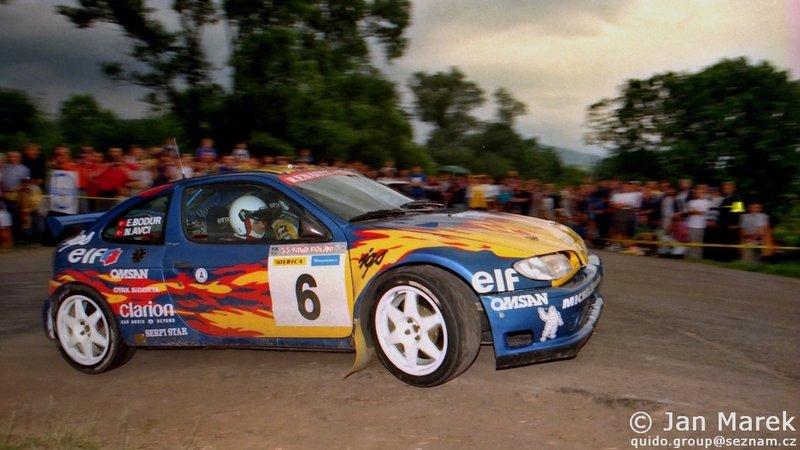Nejat Avci, Erkan Bodur, Renault Mégane Maxi, Rajd Polski 1998