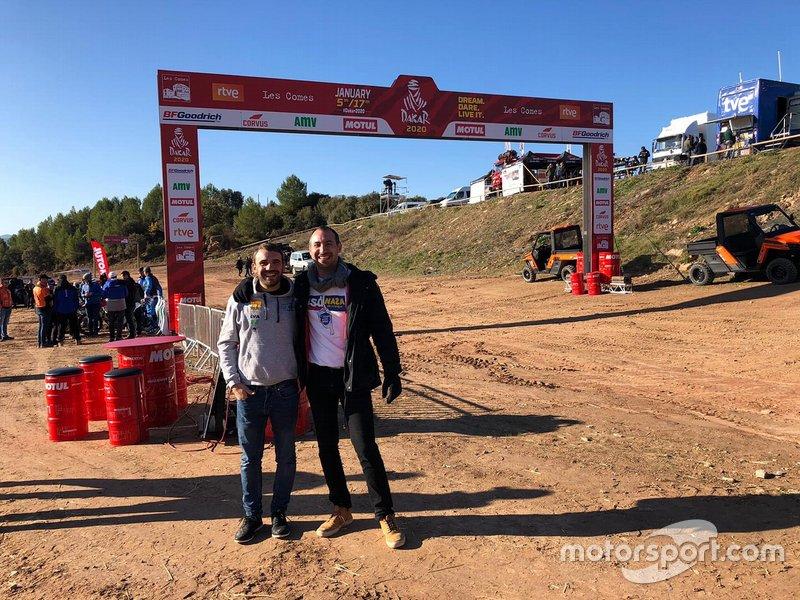 #381 Juan Manuel Mañá, José Calvar, Toyota Land Cruiser