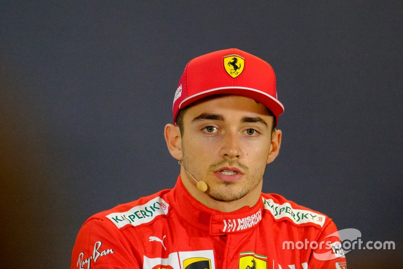 Conferenza stampa: Charles Leclerc, Ferrari