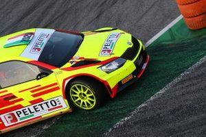 Stefano Peletto, Gloria Andreis, Skoda Fabia R5, P.A. Racing
