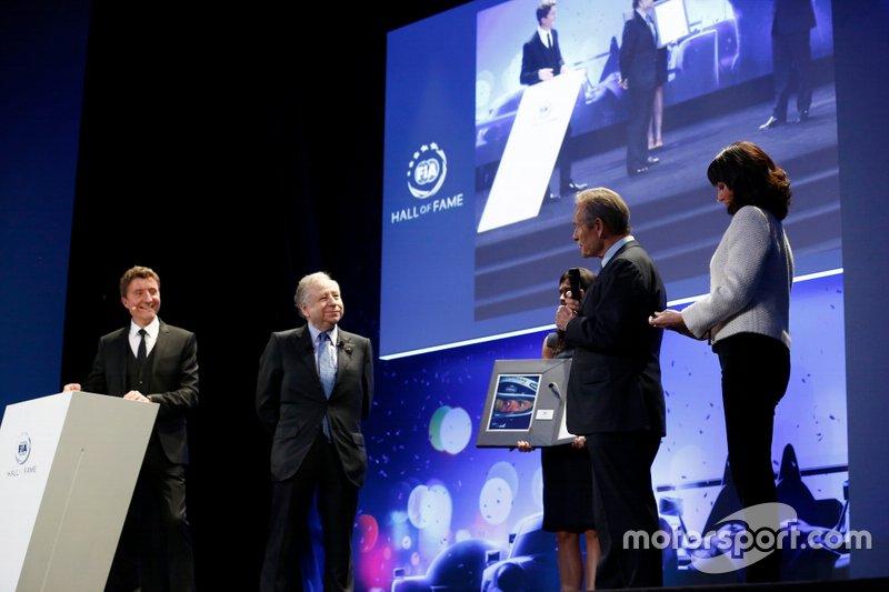 Jean Todt, FIA President, Jacky Ickx