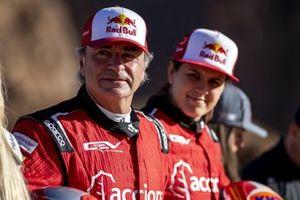 Carlos Sainz, Sainz XE Team, Laia Sanz, Acciona | Sainz XE Team
