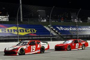 Brandon Jones, Joe Gibbs Racing, Toyota Supra Toyota, Jeffrey Earnhardt, JD Motorsports, Chevrolet Camaro TeamJDMotorsports.com