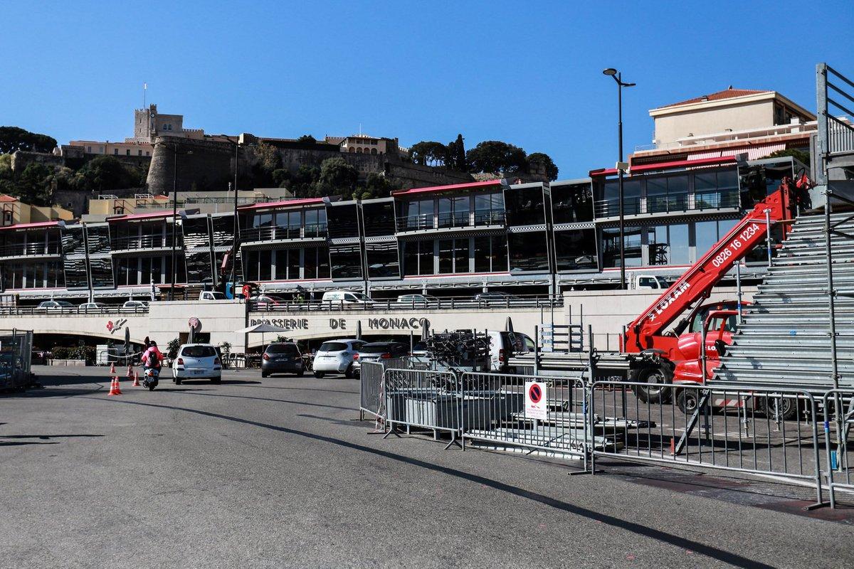 Preparación del GP de Mónaco