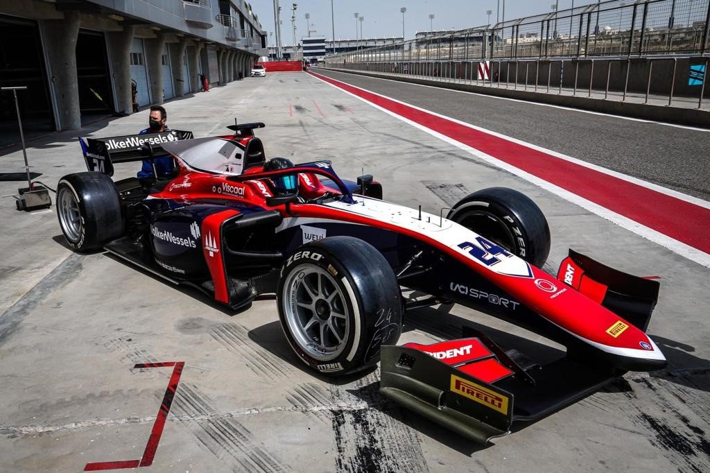 Bent Viscaal, Trident, F2 pre-season test