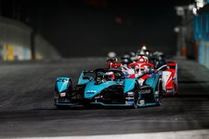 Mitch Evans, Panasonic Jaguar Racing, Jaguar I-Type 5, Alex Lynn, Mahindra Racing, M7Electro