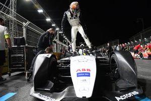 Edoardo Mortara, Venturi Racing, on the grid