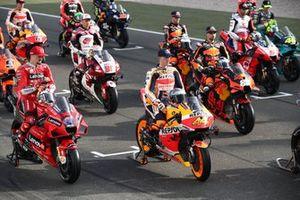 Starterfeld für die MotoGP-Saison 2021
