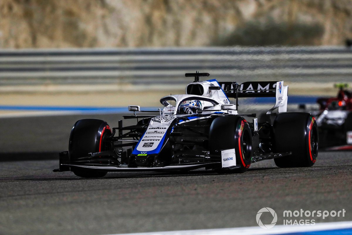 Jack Aitken, Williams FW43, Antonio Giovinazzi, Alfa Romeo Racing C39