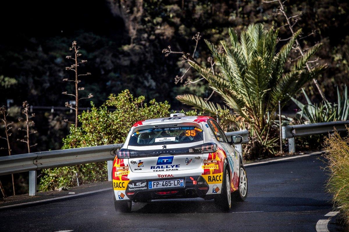 Josep Bassas, Axel Coronado, Peugeot 208 Rally4