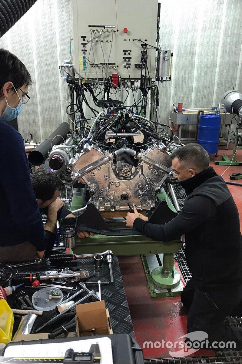 Motor del Glickenhaus 007 LMH de Pipo Motors
