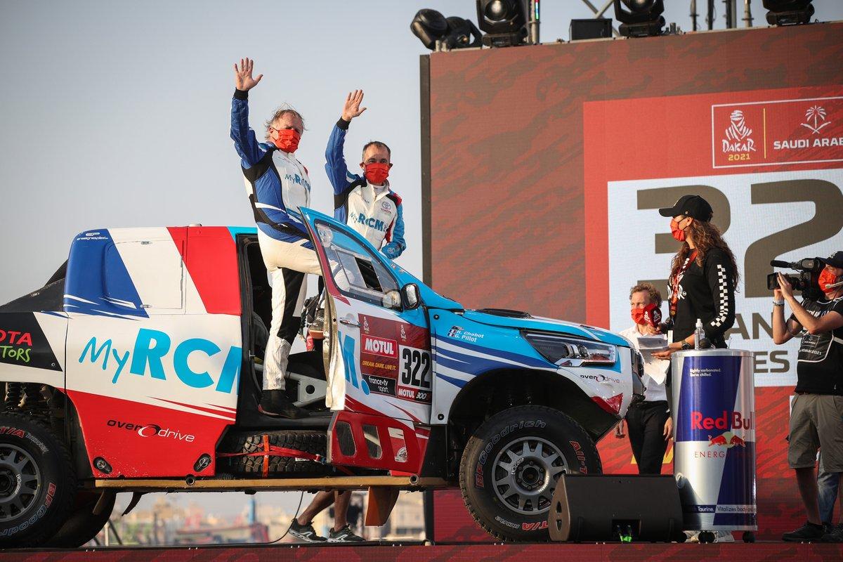 #322 Overdrive Toyota: Ronan Chabot, Gilles Pillot