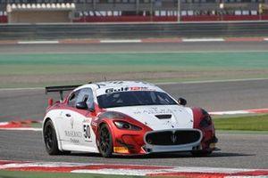 #50 SVC Sport Management, Maserati MC GT4: Antoni Chodzen, Piotr Chodzen, Patrick Zamparini