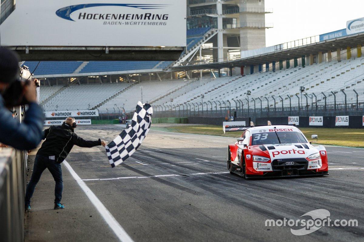 El ganador y campeón 2020: Rene Rast, Audi Sport Team Rosberg, Audi RS 5 DTM