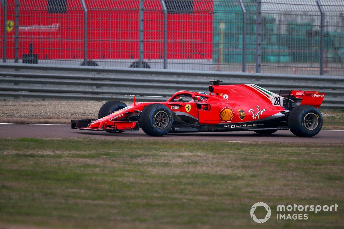 Giuliano Alesi, Ferrari SF71H