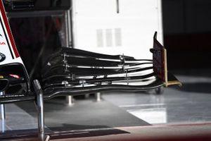 Alfa Romeo Racing C39 front wing detail