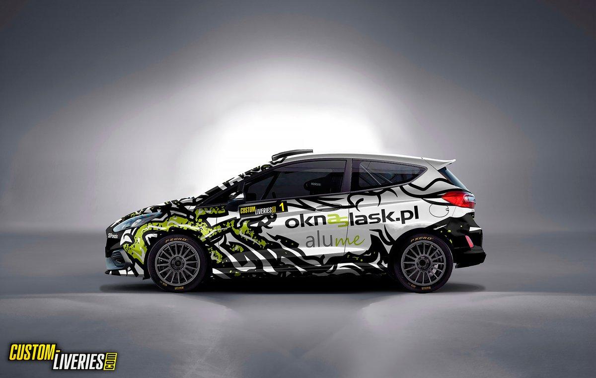 Szymon Cieślak, Paweł Pochroń, Ford Fiesta Rally4