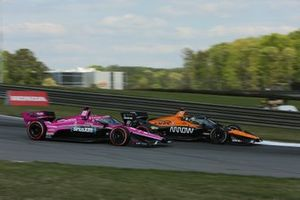 Jack Harvey, Meyer Shank Racing Honda, Patricio O'Ward, Arrow McLaren SP Chevrolet