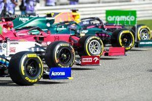 Pirelli tires on the Alfa Romeo Racing C41