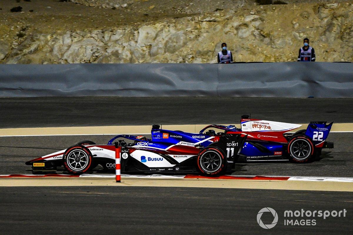 Louis Deletraz, Charouz Racing System, precede Roy Nissany, Trident