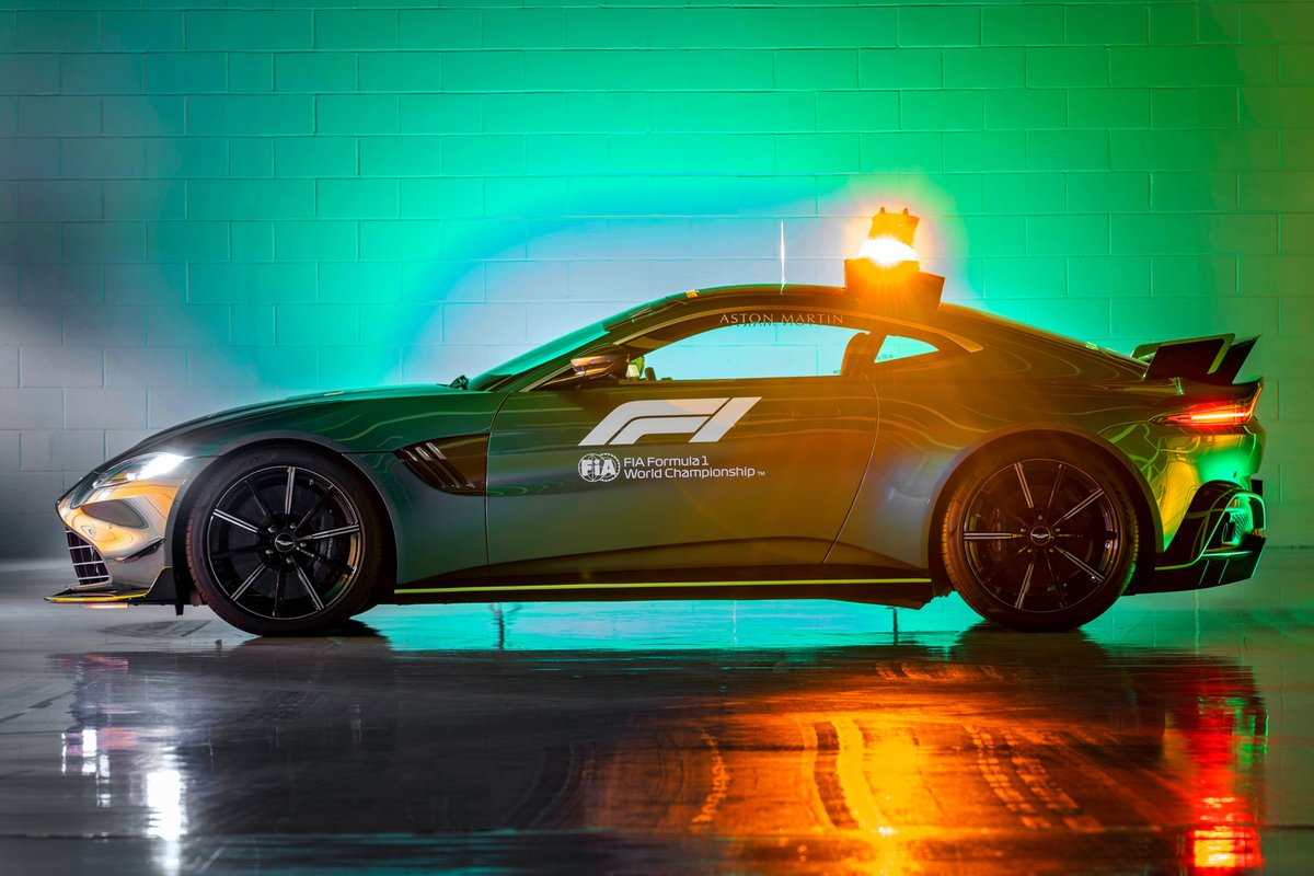 Aston Martin, Safety Car para la F1