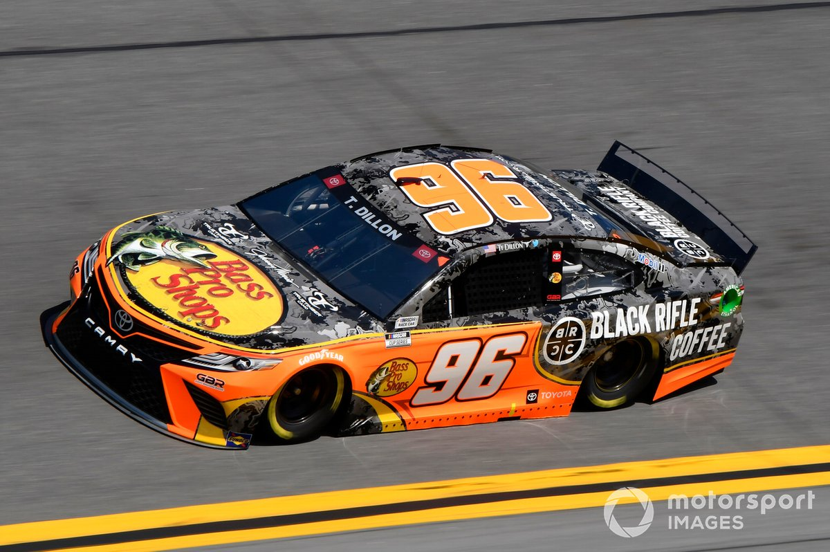#96: Ty Dillon, Gaunt Brothers Racing, Toyota Camry