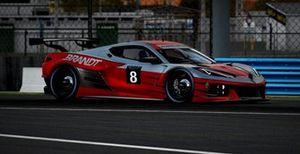 Miguel Paludo nas 24h de Daytona Virtuais