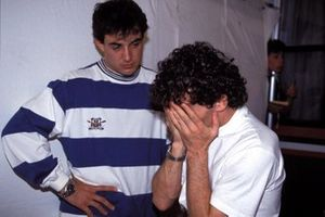 Jean Alesi y Alain Prost, Ferrari