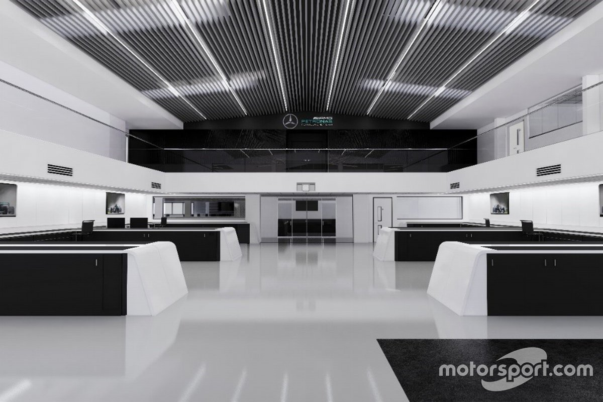 Mercedes-fabriek Brackley