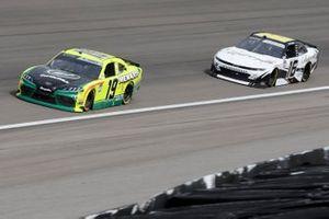 Brandon Jones, Joe Gibbs Racing, Toyota Supra Menards/Turtle Wax, A.J. Allmendinger, Kaulig Racing, Chevrolet Camaro Ellsworth Advisors