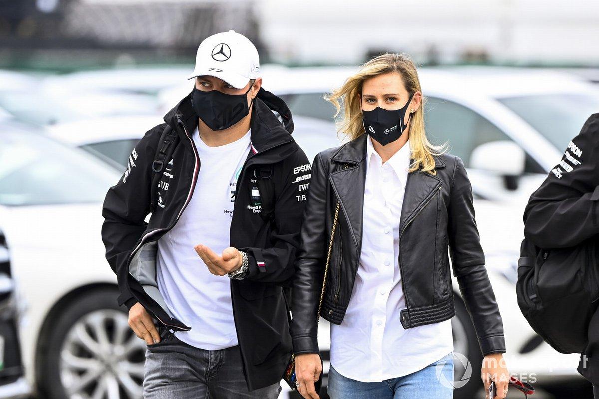 Valtteri Bottas, Mercedes-AMG F1 y Tiffany Cromwell