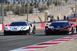 #8 Kessel Racing, Ferrari 488 GT3: Alessandro Cutrera, Leonardo Maria Del Vecchio, Marco Frezza, Nicola Cadei, #72 Inception Racing with Optimum, McLaren 720S GT3: Brendan Iribe, Ollie Millroy, Nick Moss, Joe Osborne