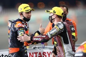 1. Sam Lowes, Marc VDS Racing Team, 3. Raul Fernandez, Red Bull KTM Ajo