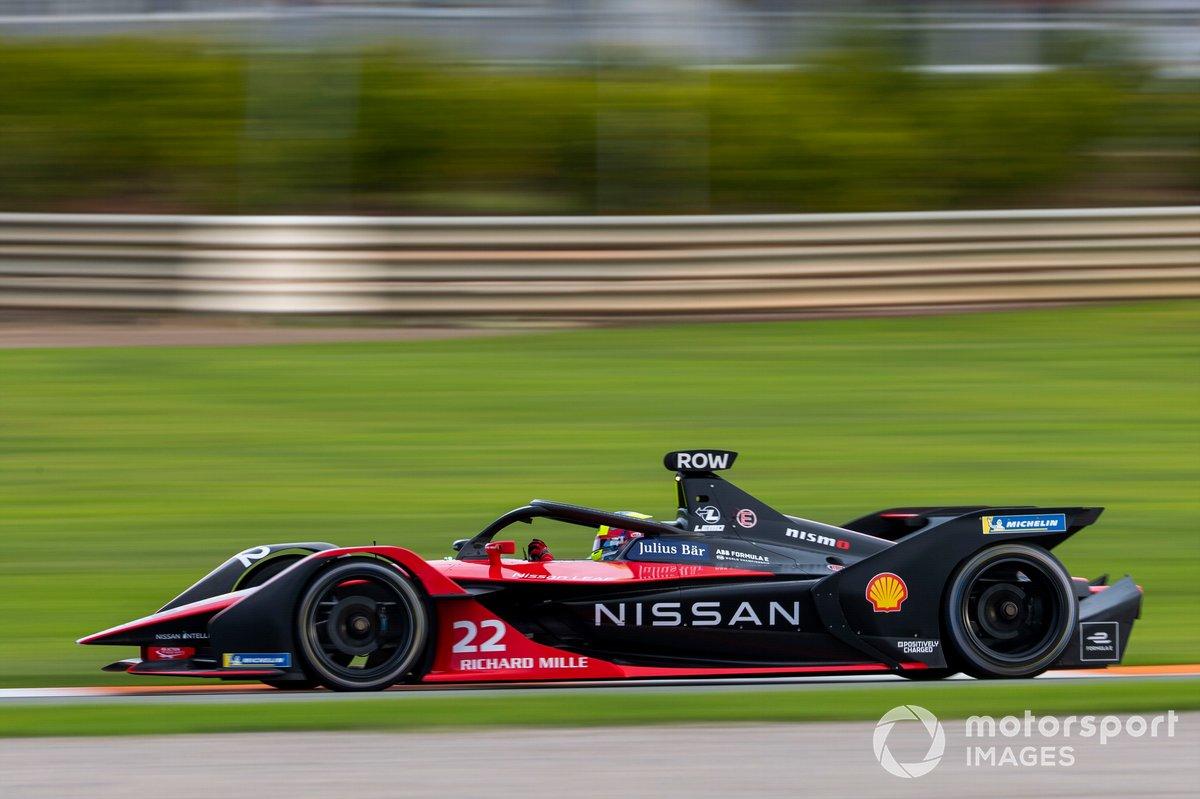#22 - Oliver Rowland (Team: Nissan-e.dams, Antrieb: Nissan)