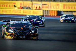 #63 Orange 1 FFF Racing Team Lamborghini Huracan GT3 Evo: Dennis Lind, Marco Mapelli, Andrea Caldarelli