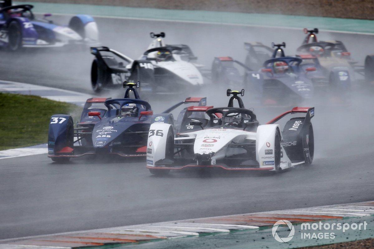Andre Lotterer, Porsche, Porsche 99X Electric, Nick Cassidy, Envision Virgin Racing, Audi e-tron FE07