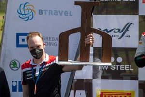Podio: Jari-Matti Latvala, Team Principal, Toyota Gazoo Racing WRT