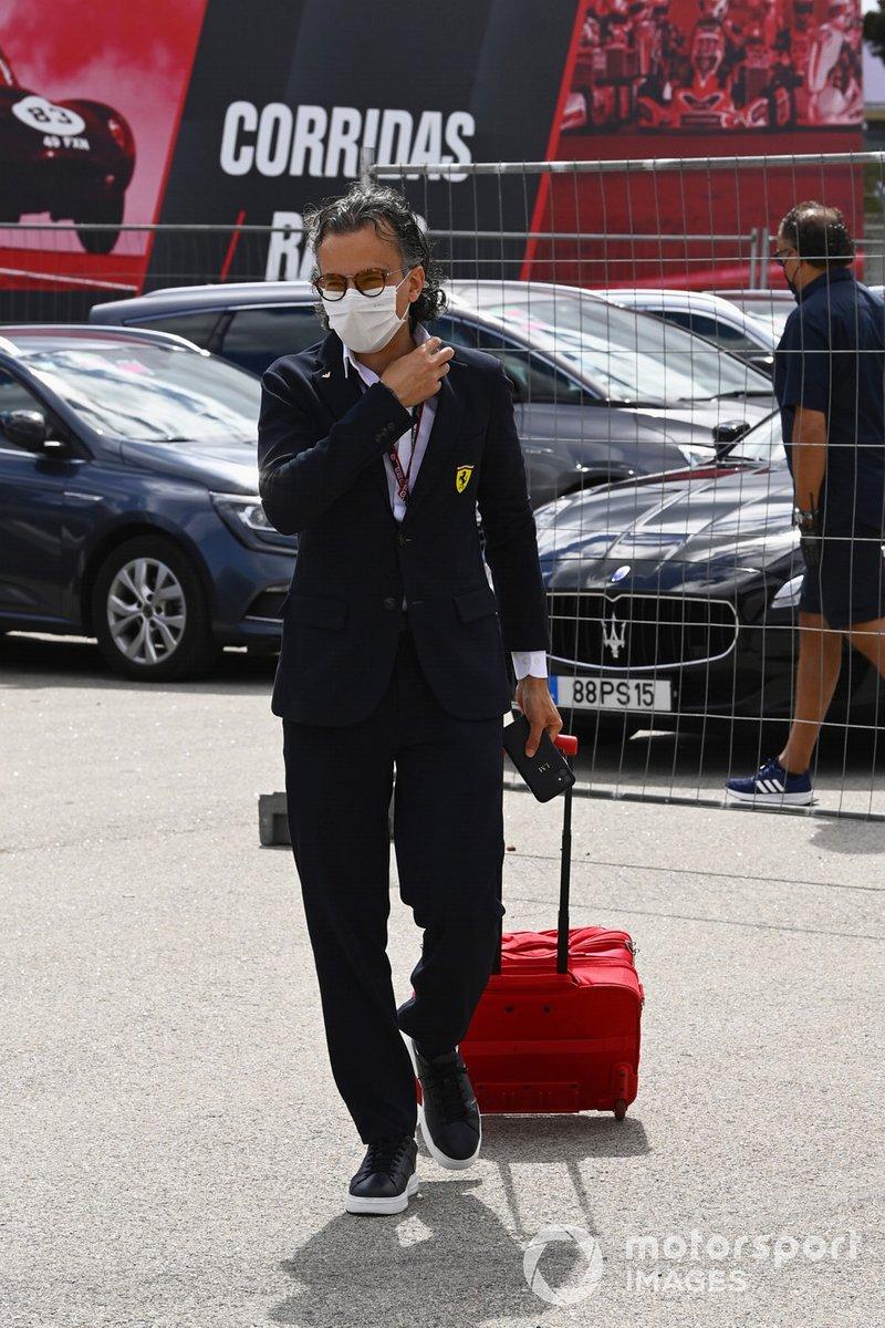 Laurent Mekies, director de carreras de Ferrari