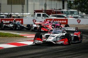 Takuma Sato, Rahal Letterman Lanigan Racing Honda, Marcus Ericsson, Chip Ganassi Racing Honda