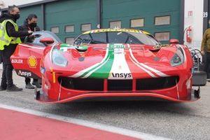 La Ferrari 488 GTE Evo di Alessandro Pier Guidi, James Calado, AF Corse
