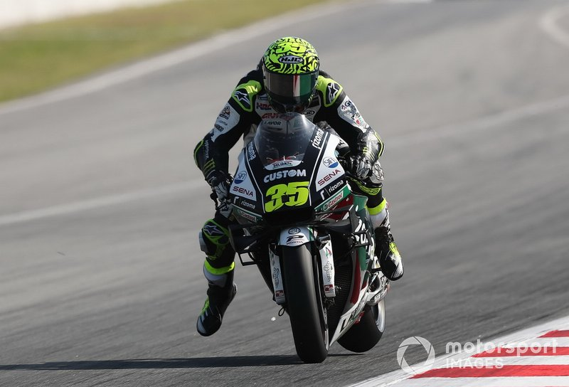 Cal Crutchlow, Team LCR Honda breaking