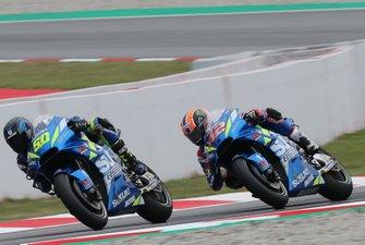 Guintoli, Alex Rins, Team Suzuki MotoGP