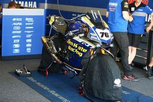 La moto de Loris Baz, Ten Kate Racing