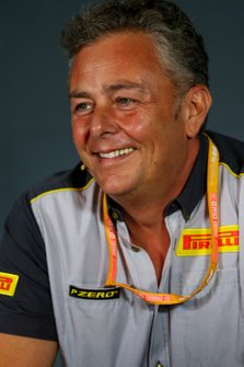Mario Isola, Racing Manager, Pirelli Motorsport, alla conferenza stampa dei Team Principal