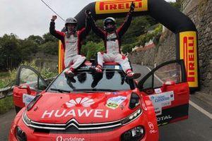 Pepe Lopez, Borja Rozada, Citroen Rally Team, Citroen C3 R5