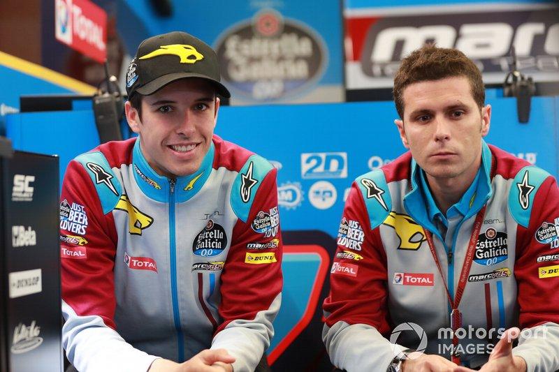 Alex Marquez, Marc VDS Racing, con Joan Olivé