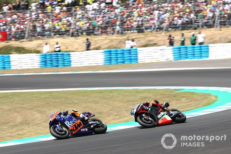 Miguel Oliveira, Red Bull KTM Tech 3, Bradley Smith, Aprilia Racing Team Gresini