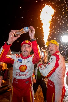 1. Scott McLaughlin, DJR Team Penske Ford, mit Fabian Coulthard